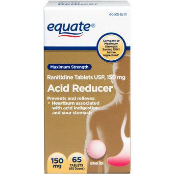 Equate Ranitidine Acid Reducer 150 mg, 65ct