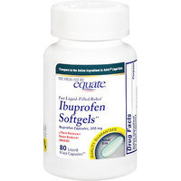 Equate Ibuprofen Softgels 200 Mg Pain Reliever/Fever Reducer - 80 Ct