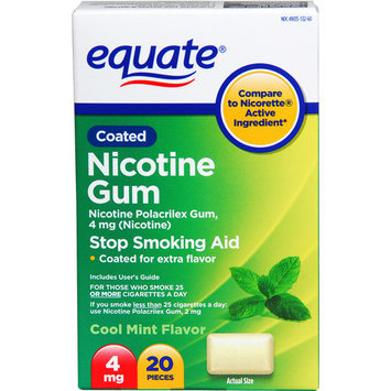 Equate Coated Nicotine Gum
