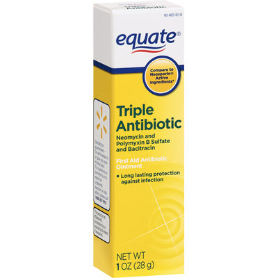 Equate Triple Antibiotic Ointment Equate First Aid Triple Antibiotic Ointment 1