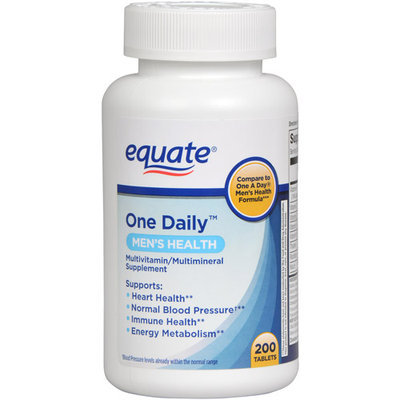 Onesource Equate Men's Health Formula One Daily Dietary Supplement - 200 Ct