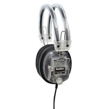 Hamilton Electronics Clear Earcup Deluxe Headphone with Volume Control
