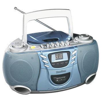 Hamilton Electronics MPC5050 Hamilton CD#44; Cassette and AMFM Radio Boom Box