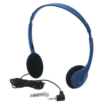 Hamilton Electronics Kids Personal Educational Headphone in Bright Blue