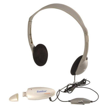 Hamilton Electronics HA2USBSM Personal USB Headphone with Microphone