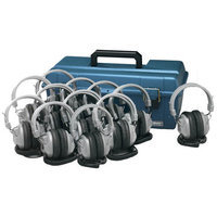 Hamilton Electronics LCP - 12 - SC7V Lab Pack- 12 SC7V Deluxe Headphones in a Carry Case
