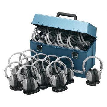 Hamilton Electronics HMC - 24 - SC7V Lab pack w - 24 SC7V Headphones in Large Carry Case