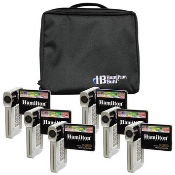 Hamilton Buhl Hamilton Electronics and Buhl HDV5200-6 Camcorder Explorer Kit with 6 Cameras, Software and Case