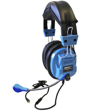 Buhl Deluxe Headset with Goose Neck Microphone and TRRS Plug