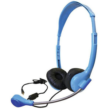 Buhl Personal Headset with Goose Neck Microphone and TRRS Plug