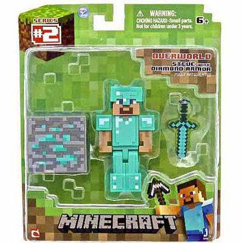 Jazwares, Inc Minecraft Overworld Action Figure - Steve with Diamond Armor