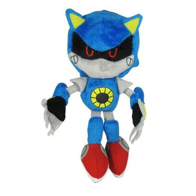 Jazwares Sonic the Hedgehog Classic Metal Sonic 7-Inch Plush