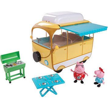 Jazwares Peppa Pig Family Camper Van Playset