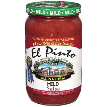 Kehe Distributors EL PINTO 220753 EL PINTO SALSA MILD - Pack of 6 - 16 OZ