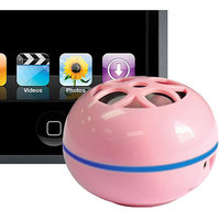 Tweakers Personal Speakers, pink - Li-on, for Ipod/mp3 - Spkrm1lpk