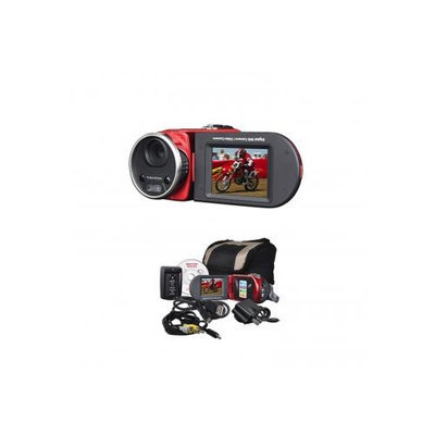 Mitsuba DV3000RED 16MP (Interpolated) SD/SDHC Digital Camcorder w/8x Digital Zoom, 2.4