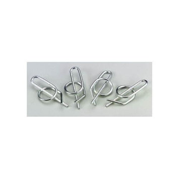 5290 Locking Body Clip (4) BRPC5290 BUDS RACING PRODUCTS