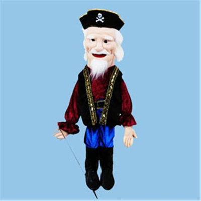Sunny Toys GS2538 28 In. Pirate - Captain Sculpted Face Puppet