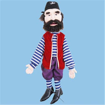 Sunny Toys GS2539 28 In. Pirate - Deck Hand Sculpted Face Puppet