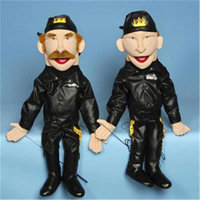 Sunny Toys GS2816 28 In. Biker - Female In Leather Sculpted Face Puppet