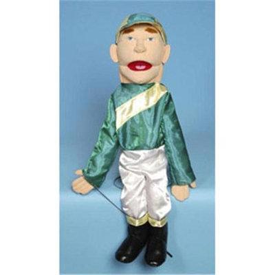Sunny Toys GS2817 28 In. Jockey Sculpted Face Puppet