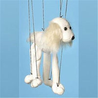Sunny Toys WB347A 16 In. Baby Mutt - White Marionette Puppet