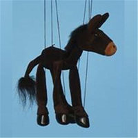 Sunny Toys WB390 16 In. Baby Donkey Marionette Puppet