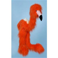 Sunny Toys WB922 38 In. Large Marionette Flamingo - Orange-Red