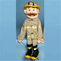 Sunny Toys GS4301 28 In. Dad Fireman Full Body Puppet
