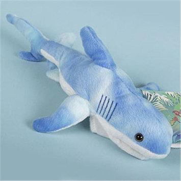 Sp 12 Blue Shark Puppet Plush Stuffed Animal Toy