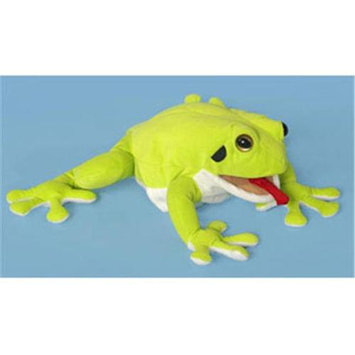 Sp Sunny Toys NP8214 12 In. Frog - Whites Tree, Animal Puppet