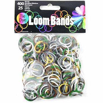 Midwest Design Imports Midwest Design LB505A-50626 Loom Bands Assortment 425-Pkg-Camo Tie-Dye