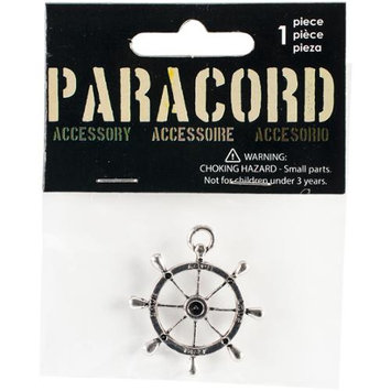 Midwest Design Paracord Charm -Silver Love Nautical 1/Pkg