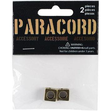 Midwest Design Paracord Charm-Antiqued Cross Slider 2/Pkg