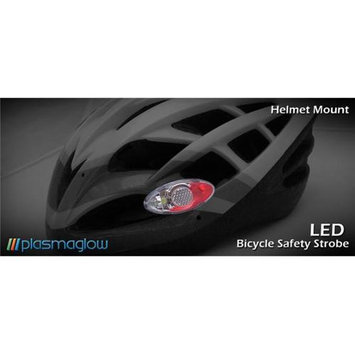 PlasmaGlow 15000 LED Bicycle Safety Strobe - Red - White