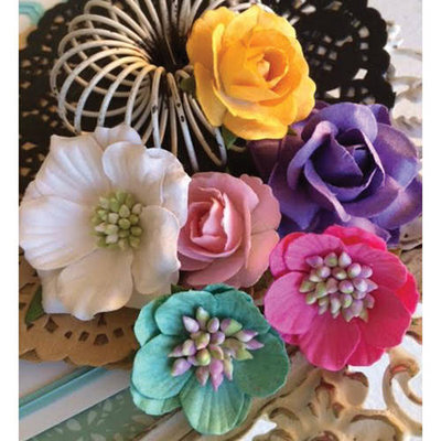 Marion Smith Designs Junque Gypsy Rhapsody Paper Flowers