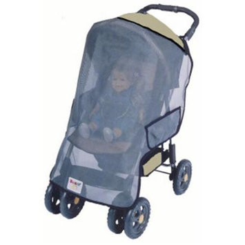 Sashas Kiddie Products Sasha's Kiddie Products Chicco Full Size Single Stroller Sun, Wind and Insect Cover