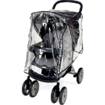 Sashas Kiddie Products Sasha Kiddie RW-103 Single Stroller Rain and Wind Cover - Stroller Not Included