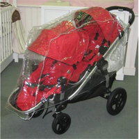 Sashas Kiddie Products Seperate Open Twin Handle Single Rain & Weather Shield