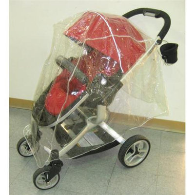 Sashas Kiddie Products Sasha Kiddie TT01 R Teutonia Single Stroller Rain and Wind Cover - Stroller Not Included