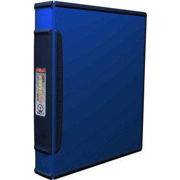 Storex DuraGrip O-Ring View Binder Color: Blue/Dark Blue, Size: 1.5