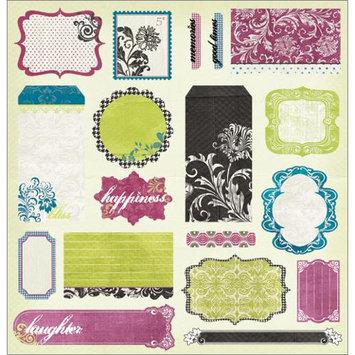Crafty Individuals Unmounted Rubber Stamp 4.75inX7in Pkg Winter Garden