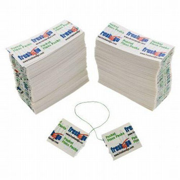 Fresh & Go 500 Pocket Dental Floss Individually Wrapped Single Use Travel Waxed Mint