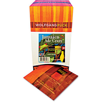 Wolfgang Puck Worldwide, Inc Wolfgang Puck Worldwide Inc 016447 Coffee Pods Jamaica Me Crazy 18 Per Box