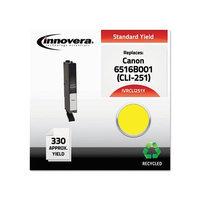 IVRCLI251Y - Innovera CLI251Y Compatible Reman 6516B001 (CLI-251Y) Ink; 330 Page-Yield; Yellow