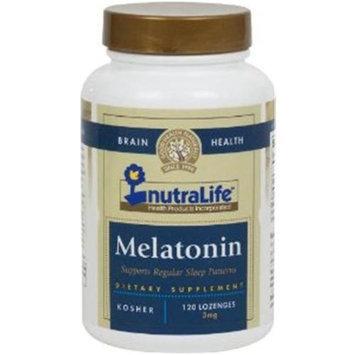 Nutralife - Melatonin 3 mg. - 120 Tablets