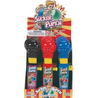 Bulk Buys Sucker Punch Lollipops - Case of 12