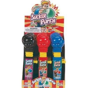 Bulk Buys Sucker Punch Lollipops - Case of 12