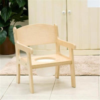 Little Colorado 027SW Handcrafted Potty Chair in Solid White