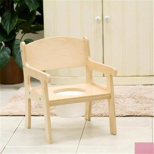 Little Colorado 027SP Handcrafted Potty Chair in Soft Pink